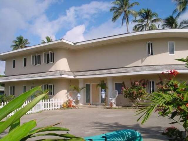 5 BR, 5BA HOUSE ON BEAUTIFUL KAILUA BEACH