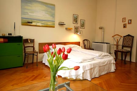 Green Garden & Lovely apartment - Pécs - 公寓