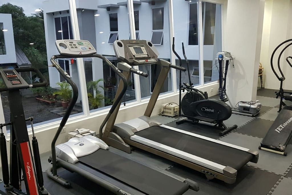 Gym - located at the opposite side of the guestrooms, its an added amenities you can see at Omega Gold Residence
