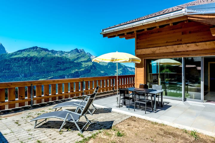 Stunning views in the Alps - Relax and Recover!