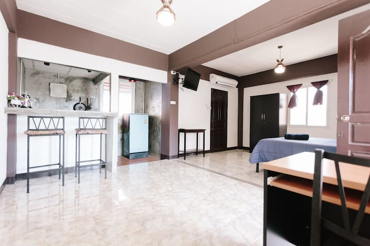 #1 Internet - Inside the Old City + Kitchenette 2 - Chiang Mai - Apartamento