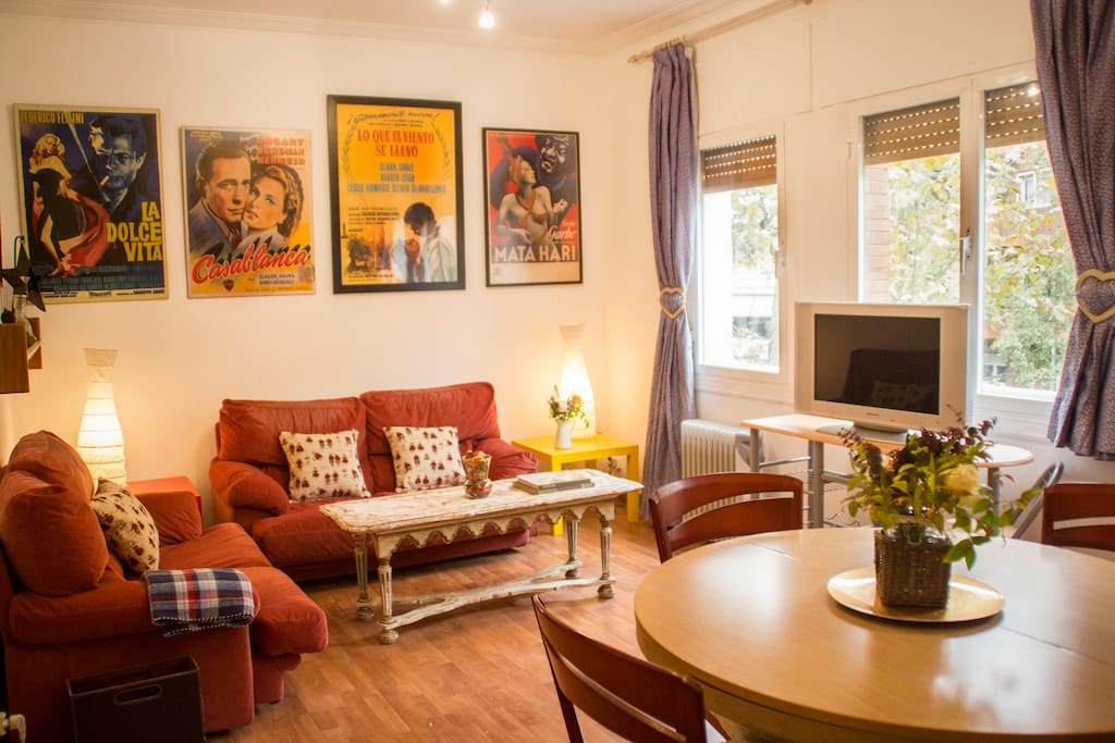 Tranquilo apartamento en barcelona apartments for rent in barcelona catalunya spain - Apartamentos en barcelona booking ...