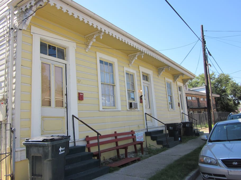 Historic Creole Cottage In Treme Houses For Rent In New