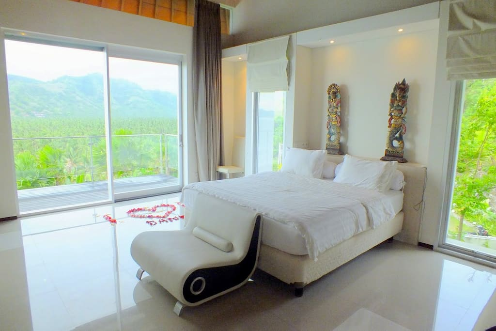 Airconditioned guest room