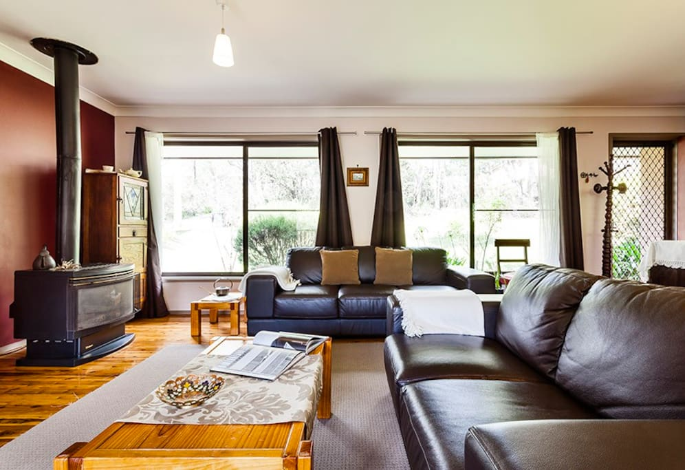 Plenty of room for everyone to enjoy their stay. Sit in front of the gas combustion log fire - conveniently turned on with the press of a button, and no messy firewood.