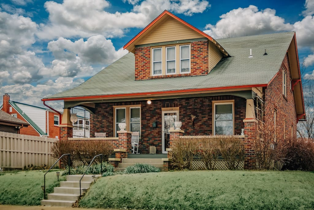 Front of house. 1928 Craftsman Bungalow.