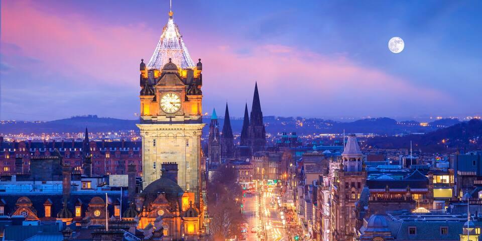Aleks's guidebook to Edinburgh