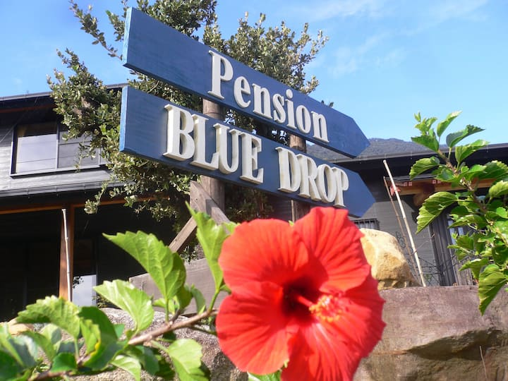 Pension BLUE DROP, cozy family room