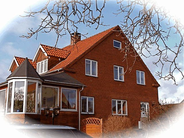 Simpel organic, Radiation-free room - Næstved - Bed & Breakfast