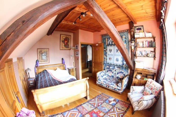 Chambre Julie 2 personnes - Villar-Saint-Pancrace - Bed & Breakfast