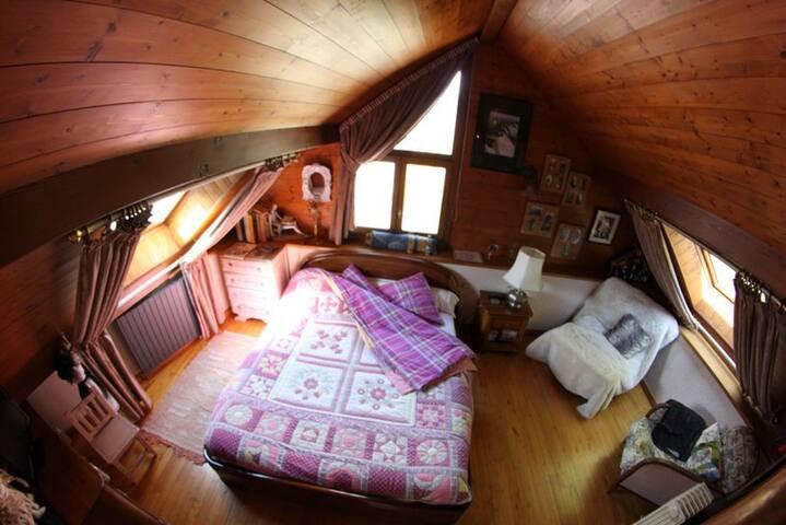 Chambre Elise 2 Personnes - Villar-Saint-Pancrace - Bed & Breakfast
