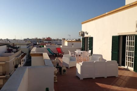 Roof top flat penthouse with  Terrace of 70m2