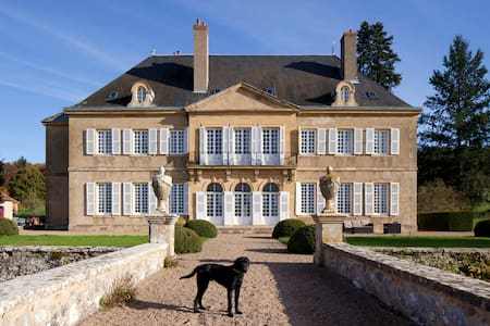 Château with a splendid view - Bourbon-Lancy
