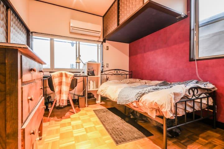 BRAND NEW ROOM in 80years house - Setagaya-ku - House