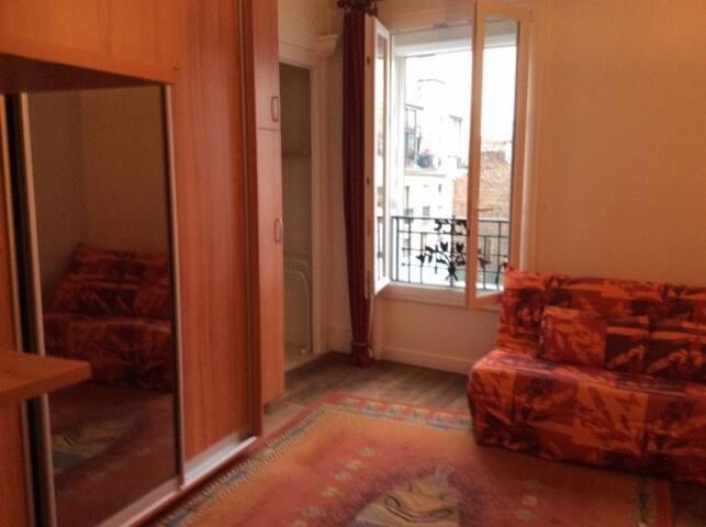 Studio à 5 minutes de Montmartre - Paris - Apartment