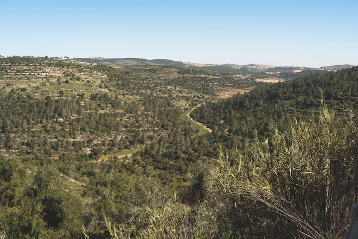 Countryside 10 min from jerusalem