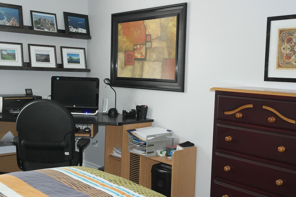 Second Bedroom with working station