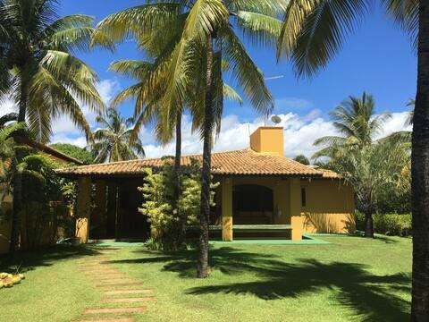 Paraíso em Itacimirim - casa 3 minutos da praia