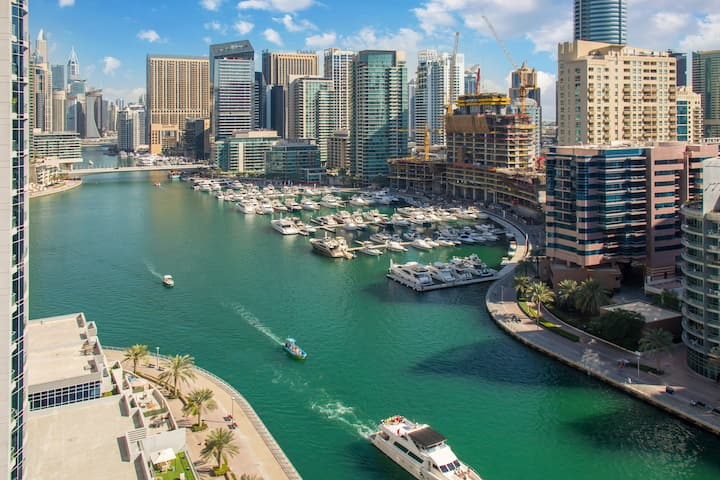 Picturesque Marina Views | One Bed | Sparkle Tower