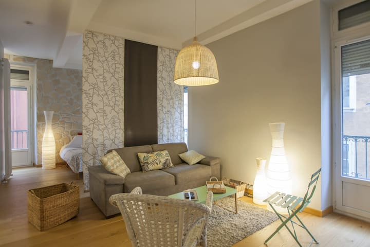 MAGNIFICENT SPACIOUS LOFT IN THE HEART OF THE BEAUTIFUL CITY OF GRENOBLE