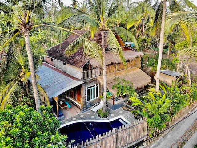 Balian Beach Tree Top Villa. Rejuvenate Retreat