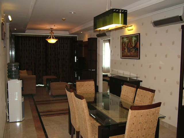 110 m2 with 3+1 BR apartment, marble floor at MOI