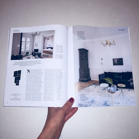 My apartment was published in Octogon Architecture & Design in 2018.
