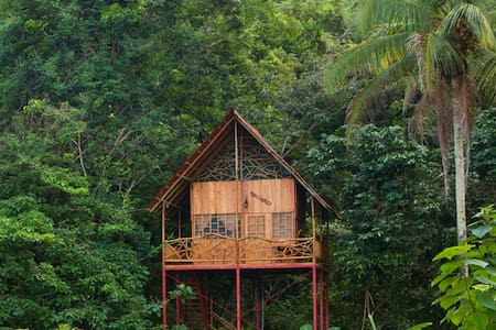 Rainforest Tree House w Hot Springs - Cooper
