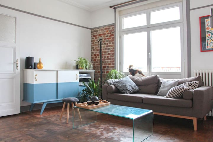 2 bedroom apartment - Old Lille - Terrace - Lille - Appartement