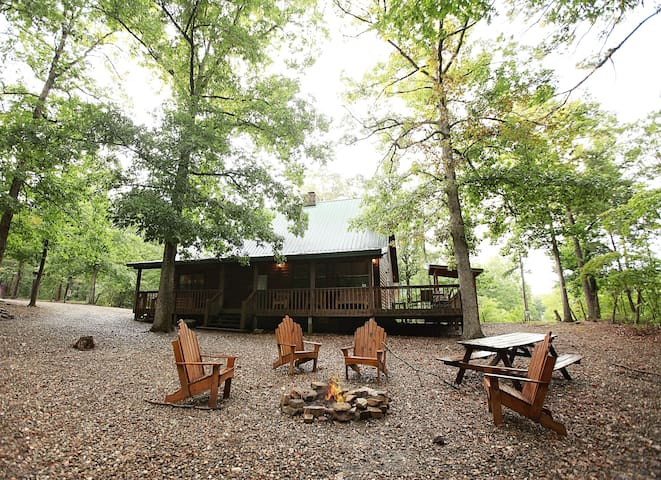 White Oak Lodge (3/2, Secluded) - Broken Bow - Blockhütte