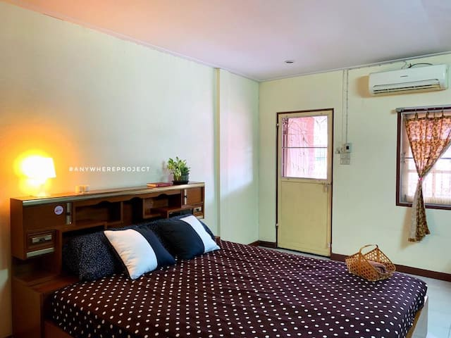 Chill Terrace Room/10 Mins from Khao San Rd