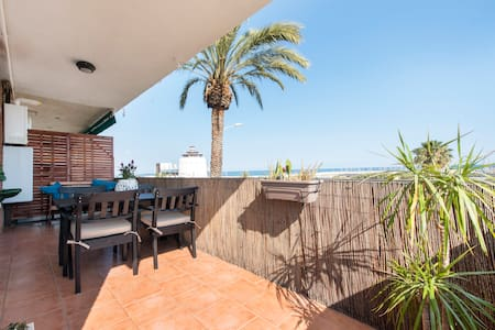 Beach Apartment with terrace - Premià de Mar - Wohnung