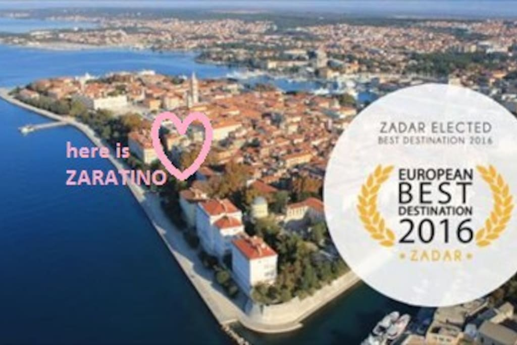 Zaratino Apartment in heart of Zadar gives you all best of Zadar