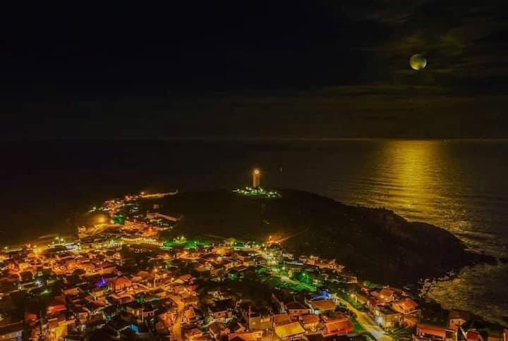 Seu cantinho no Paraíso - Farol de Santa Marta