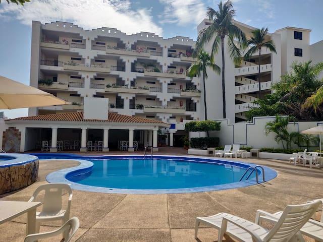 Spacious condo Paradise Bay Mazatlan