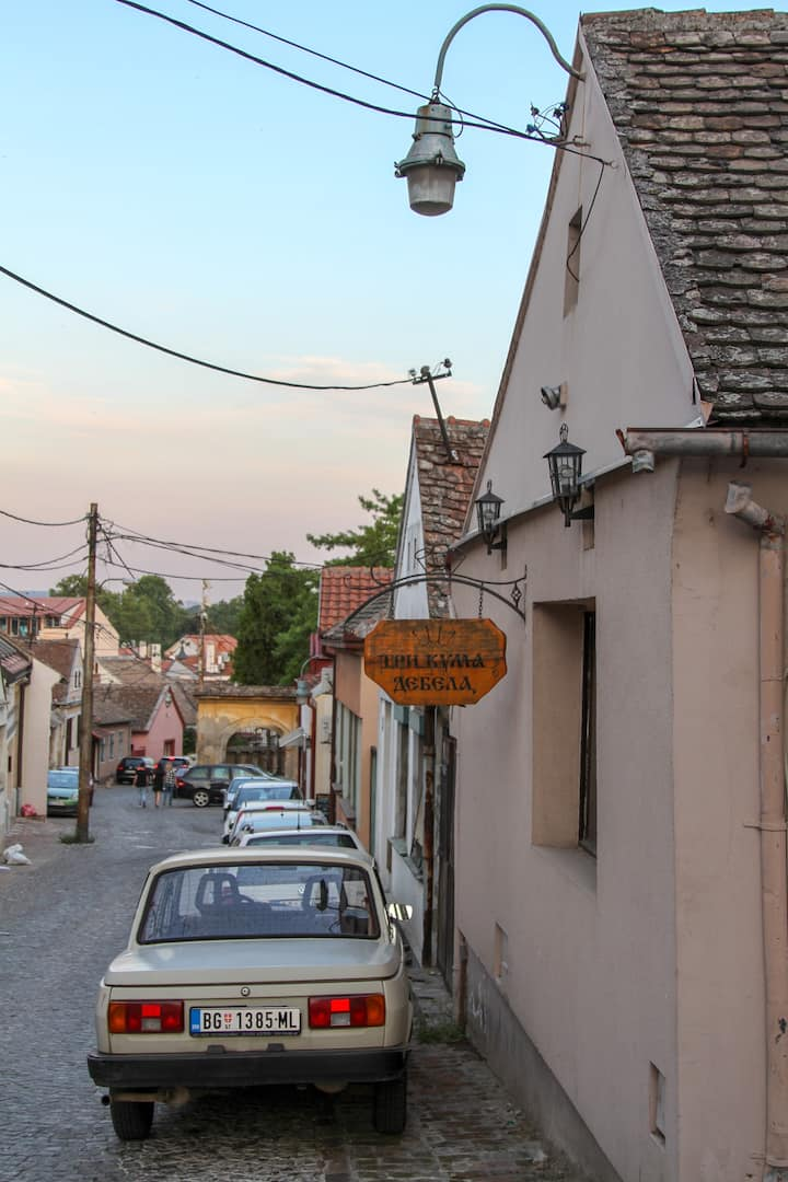 Typical Zemun street