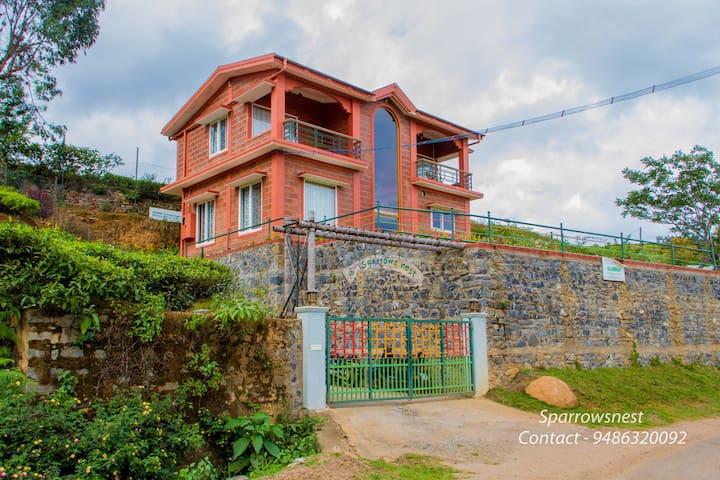 Get Cosy @ The Sparroz nest Villa in Kotagiri - Kotagiri - Bed & Breakfast