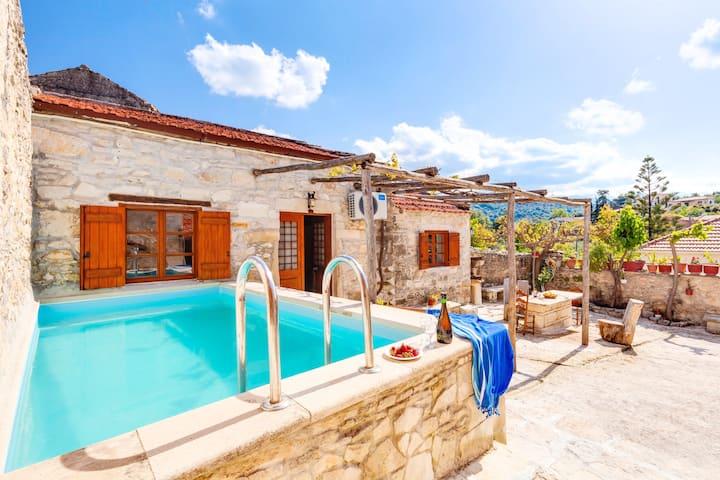 Vereniki Villa Heated Pool