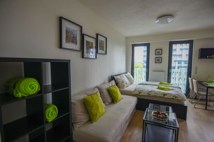 Garden Gallery Apartment