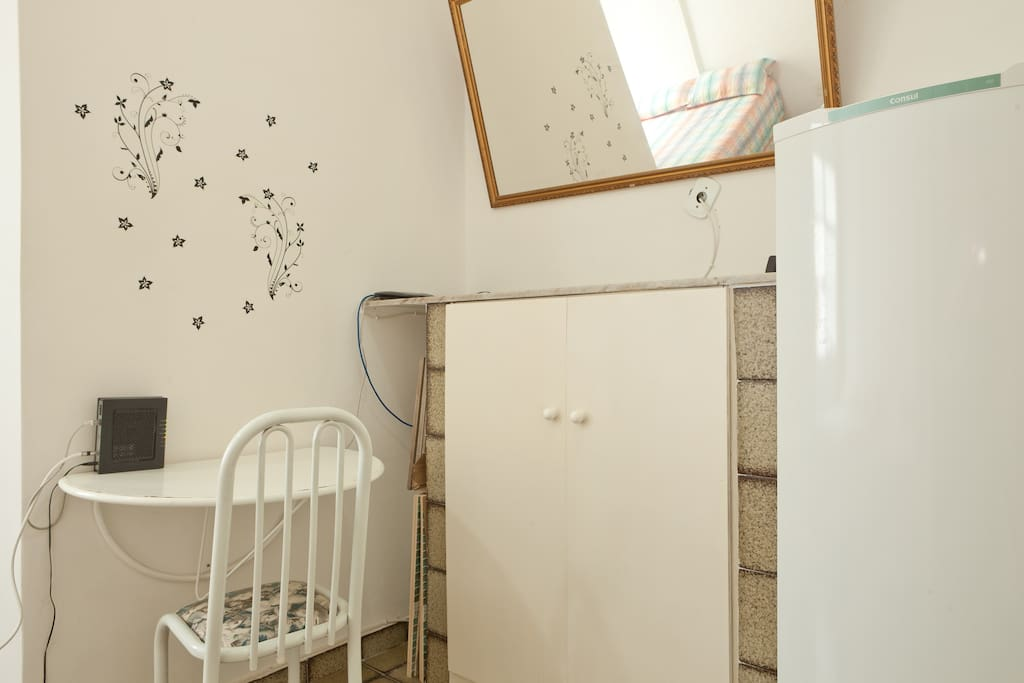 The apartment is located steps away from the beach, safe area, 24hrs doorman (located on the nice part of Copacabana)! Best option you can get in Rio.