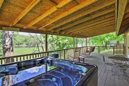NEW! Mountain View Cabin w/ Porch on White River!