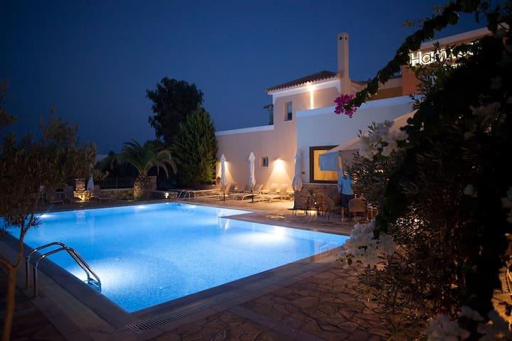 Maisonette NEFELI (47m²) 2-5 Pers. - Longos - Apartment