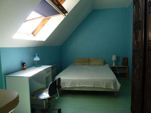 Chambre dans pavillon, Meaux 77110 - Meaux - 一軒家