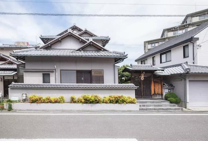 民泊松風(日本語)KIX AP関西空港近く日本庭園認定民泊、24時間送迎可、最大28人入居できます