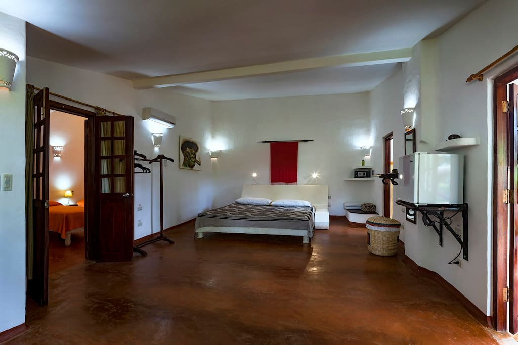 Interior view of Room 1