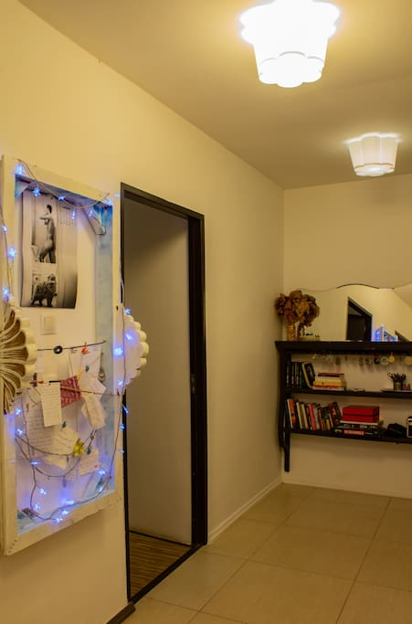 Welcome home!  -hallway view-