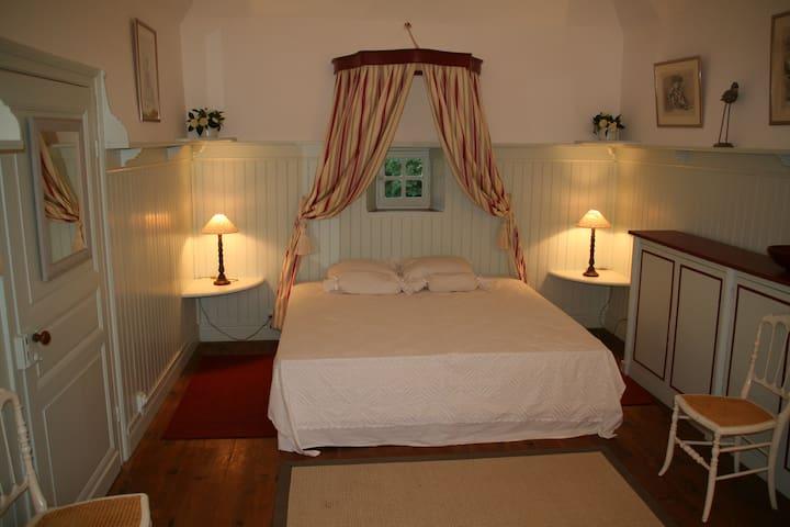 La « Chambre de la Dame » à Bareït - Brassempouy - 家庭式旅館