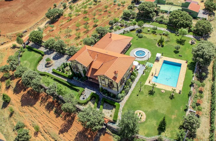 Magnificient Villa- 9 BD (20people) - Ciruelos de Cervera - 別荘