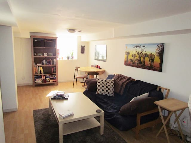 Bright, cozy one bedroom with parking! - Toronto - Maison