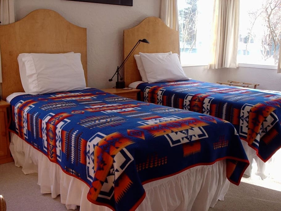 This room is able to either be a King Bed or 2 Single Beds on request